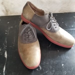 "Polo Saddle Shoes ""Orrick"" Nubuck Suede"